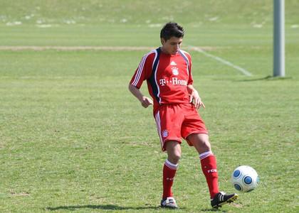 Alessandro Schöpf beim FCB
