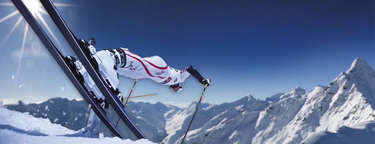 Florian Scheiber beim Start