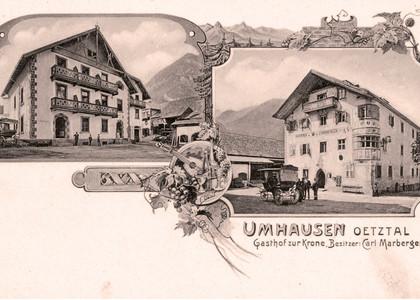 Gasthof Krone in Umhausen