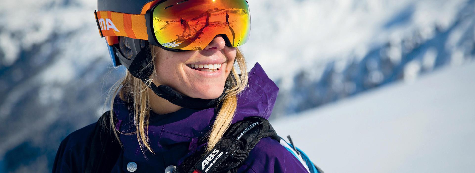 Ski helmets: Age Matters