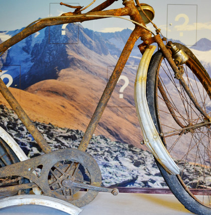 A BICYCLE AT 3,OOO METERS<br/>ABOVE SEA LEVEL<br/>