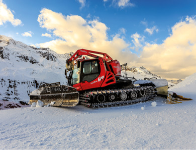 Pistenbully in Hochgurgl