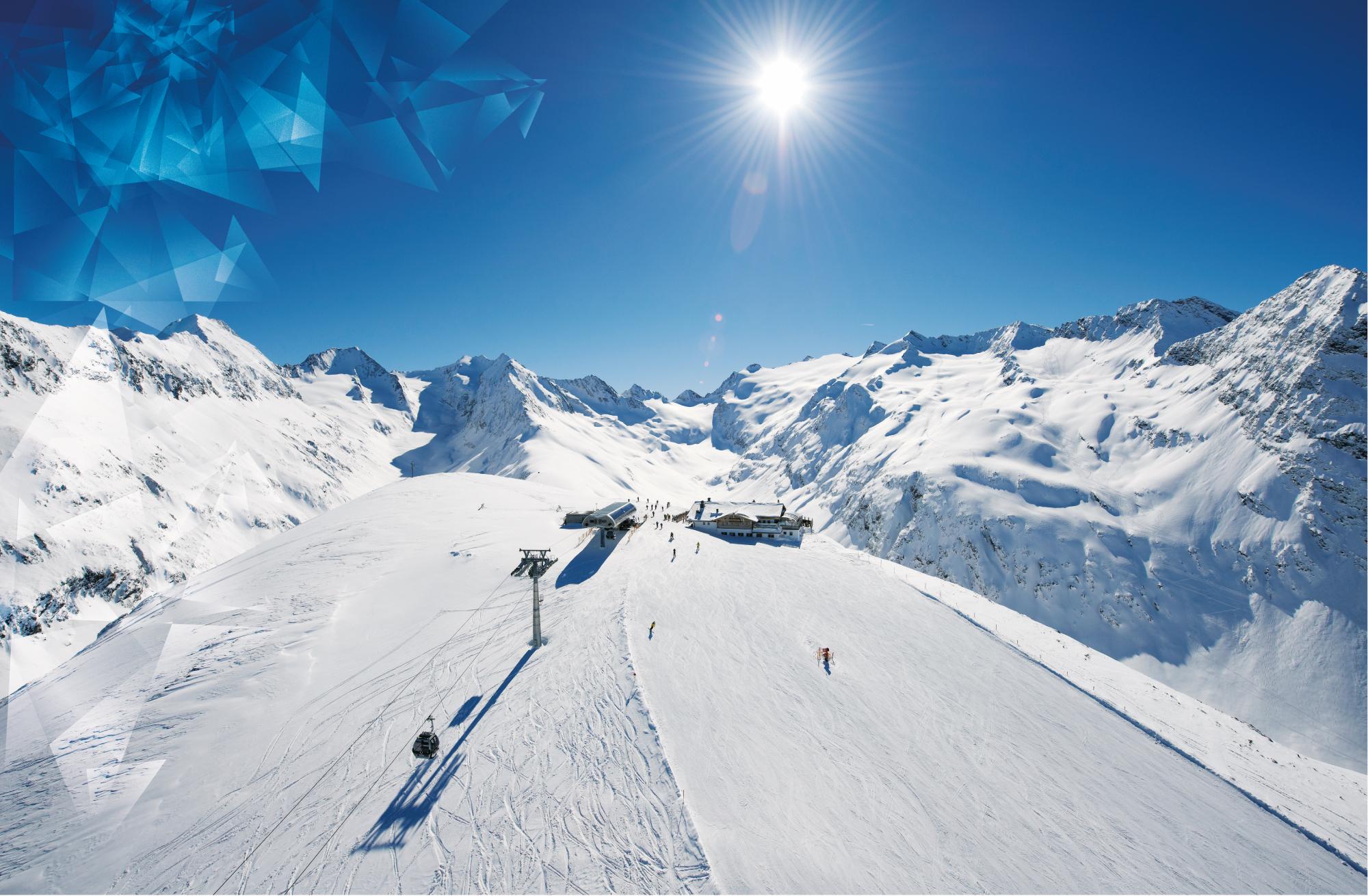 Ski region soelden tyrol skiing area winter vacation for Designhotel skigebiet