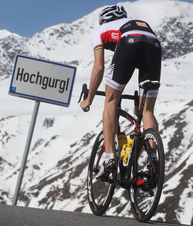 Patric Grüner –professional cyclist