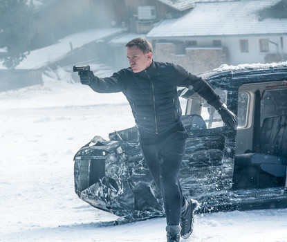 James Bond in Sölden - Daniel Craig als 007 in SPECTRE